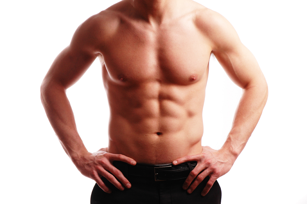 how to get a lean body male