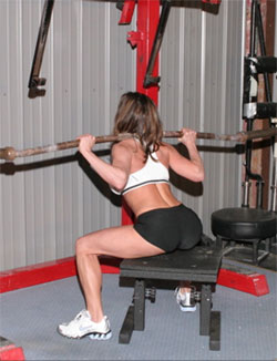 Box Squat - Low Position (from doubleyourgains.com)