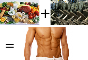 pic: Good eating, with good weight lifting, equals bigger and better physique